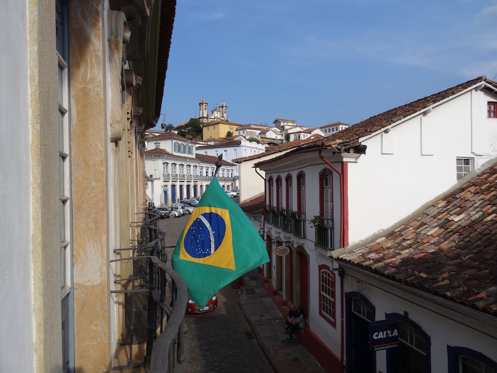Ouro Prêto - one of the oldest towns in the country - Minas Gerais