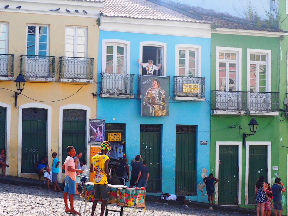 "Pelourinho, Salvador - Bahia. Where Michael Jackson filmed the music video for ""They don't really care about us""."