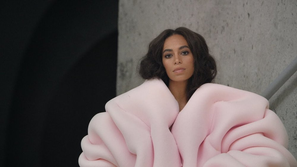 "Solange, ""Cranes In The Sky"" (Image: Youtube)"