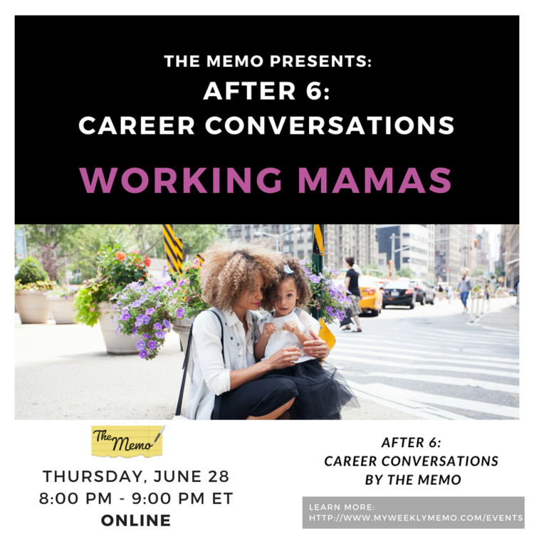 Virtual After 6: Motherhood and Careers