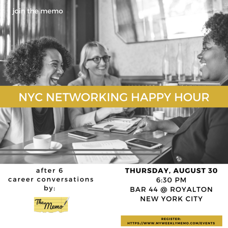 After 6: August NYC Networking Event