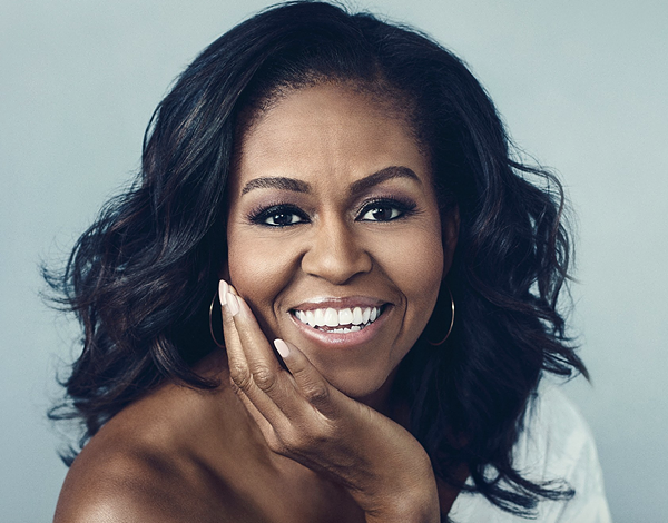 Michelle Obama (Image: Becoming Cover)