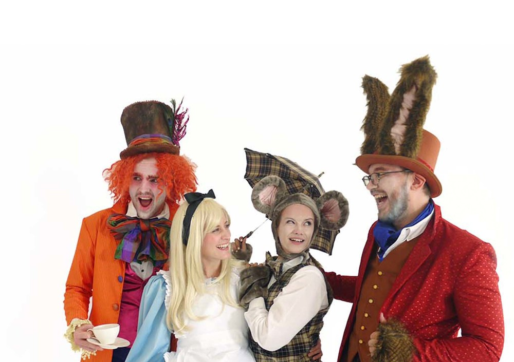 JK58, Alice in Wonderland Experience in Qatar Costume & Prop Design