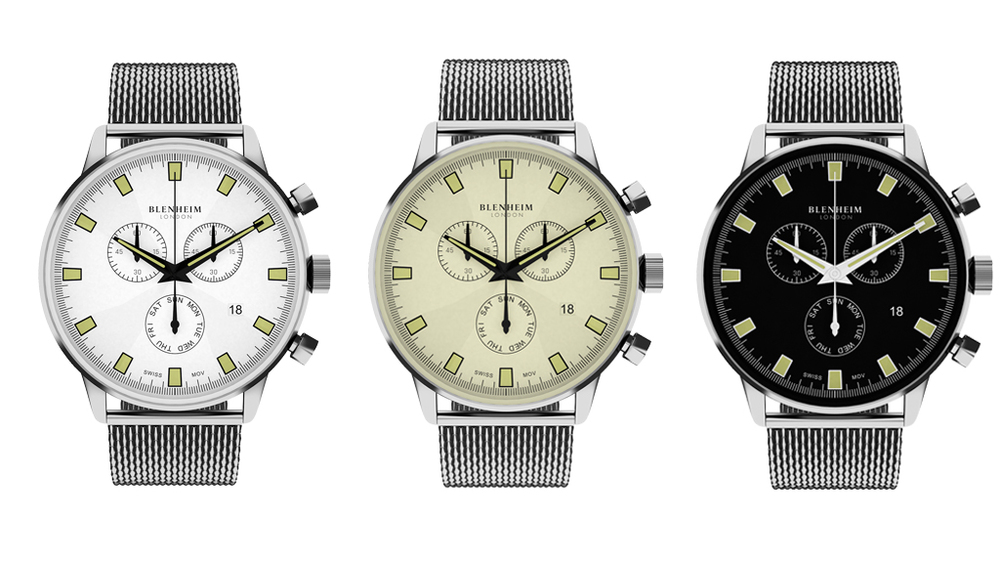 Blenheim London® Chronomaster Pilot Watch