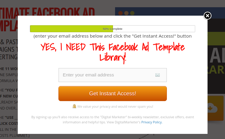 How To Supercharge Your Apartment Marketing With Facebook Ads The - Facebook ad template library