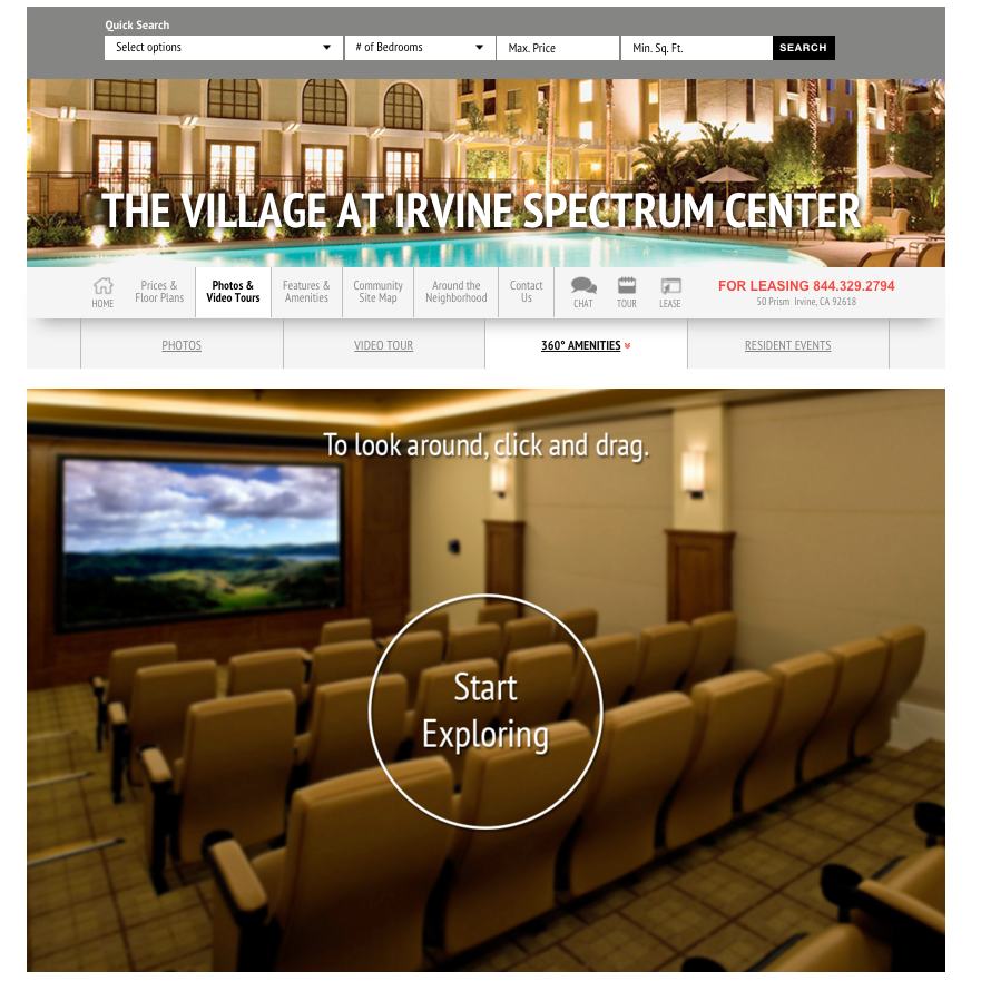 The Village - Irvine Spectrum - Apartments in Irvine - 360 Tour