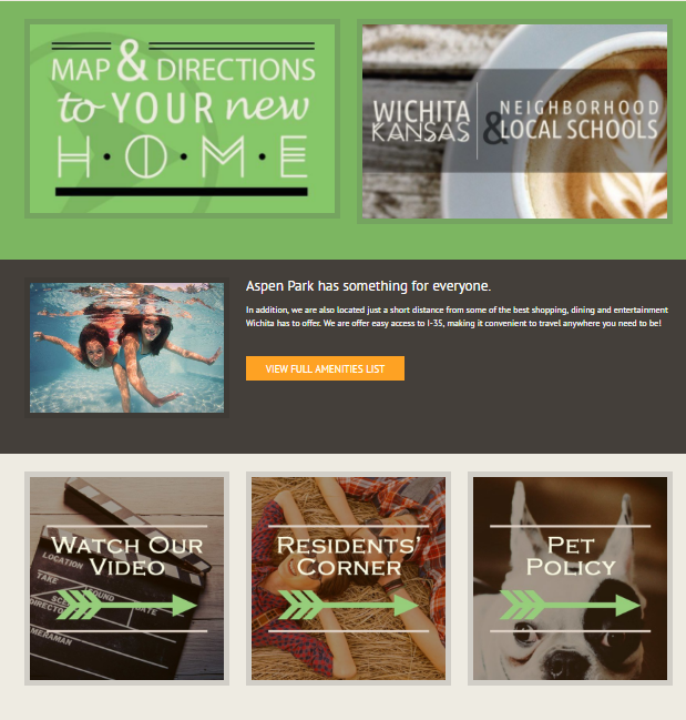 Visual Home Page