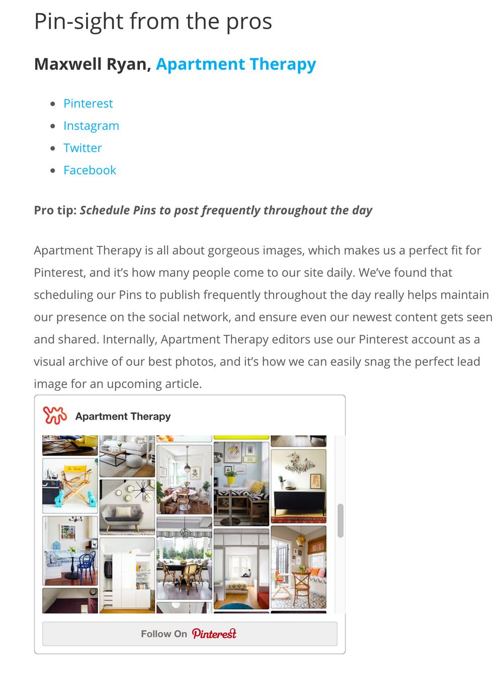 Apartment Marketing Pinterest