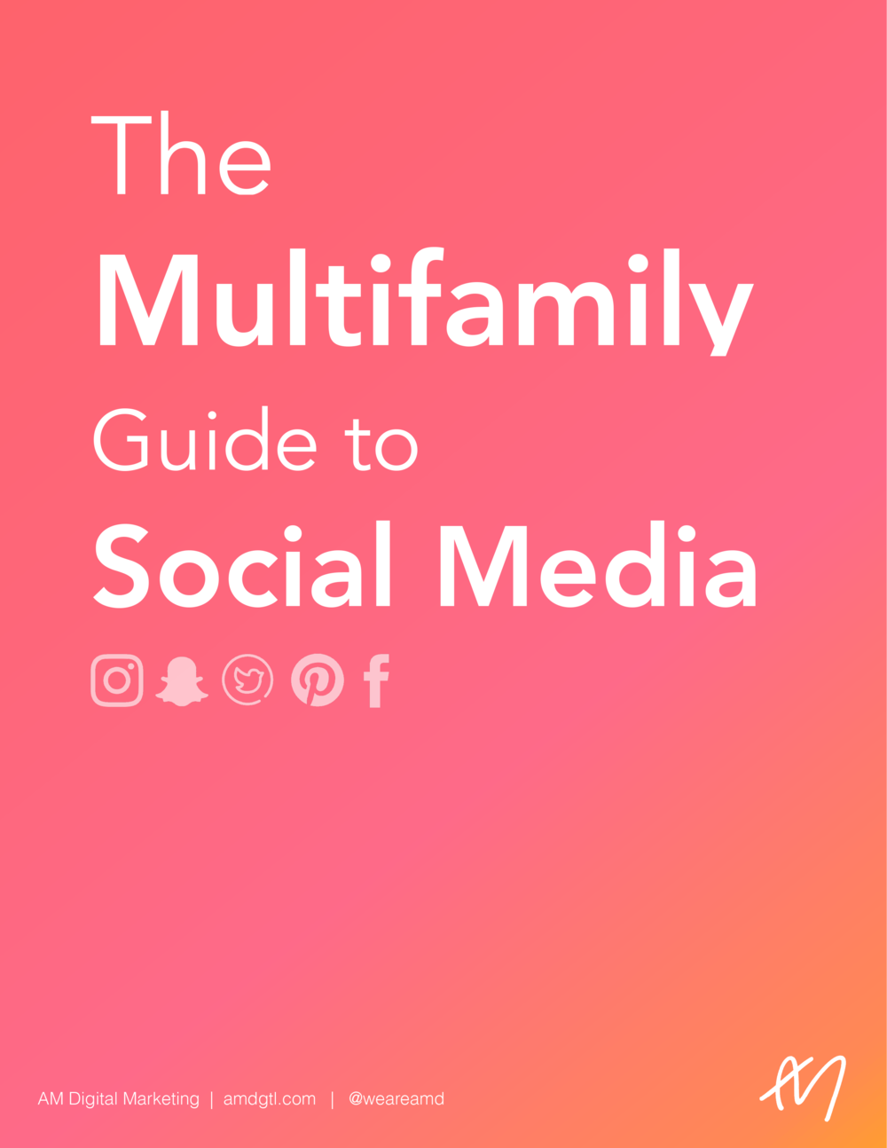 The Multifamily Guide to Social Media [GUIDE]