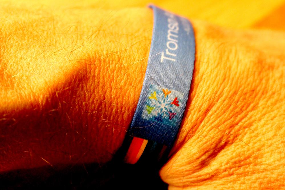 Festivalarmbåndet til Tromsø Arctic Pride gir deg fordeler