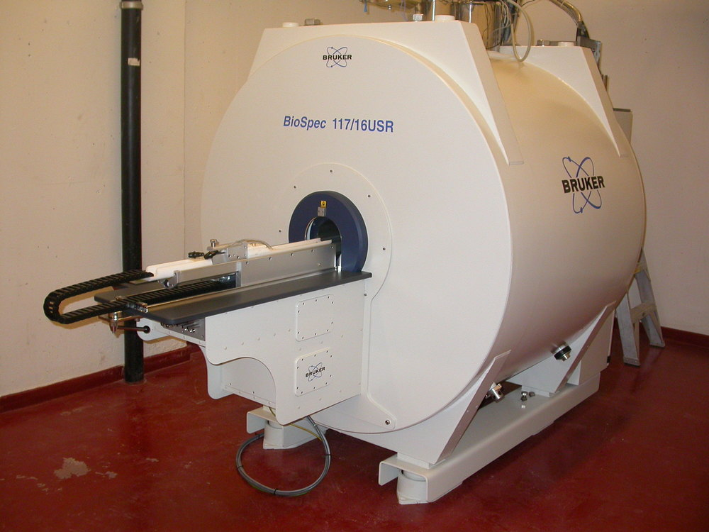 A typical MRI scanner