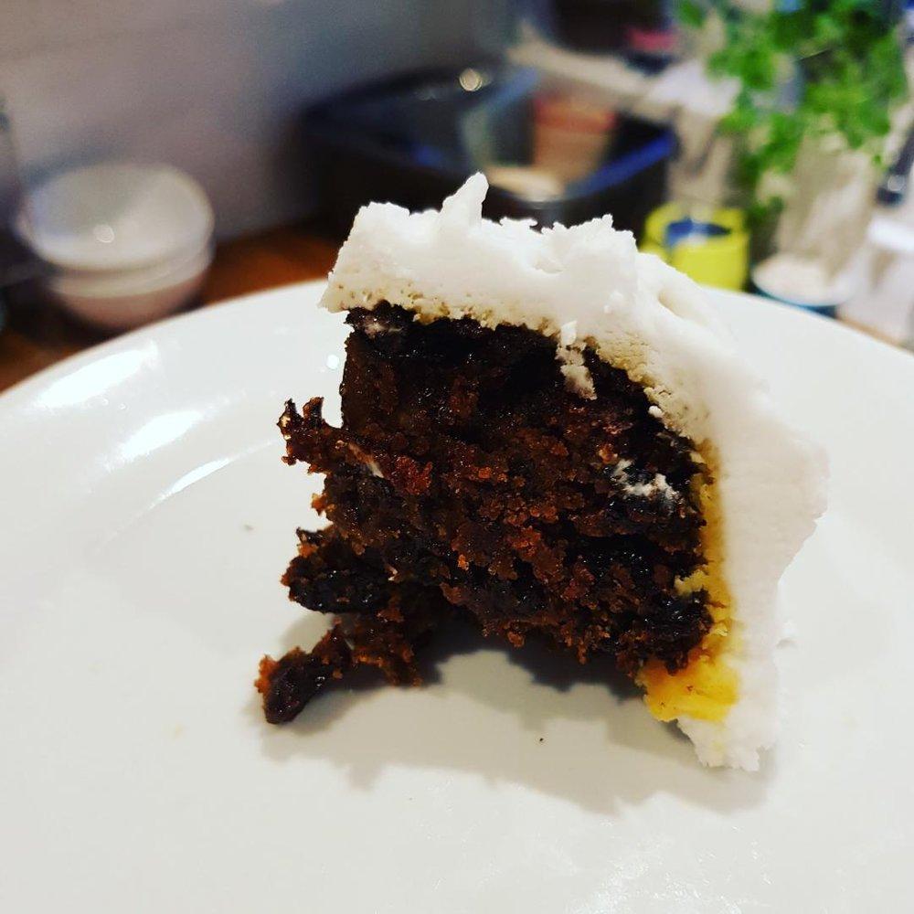 Tasty tasty cake.