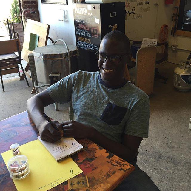 Welcome back Jevon! @jevon1155 #theoliows #youthapprenticeships