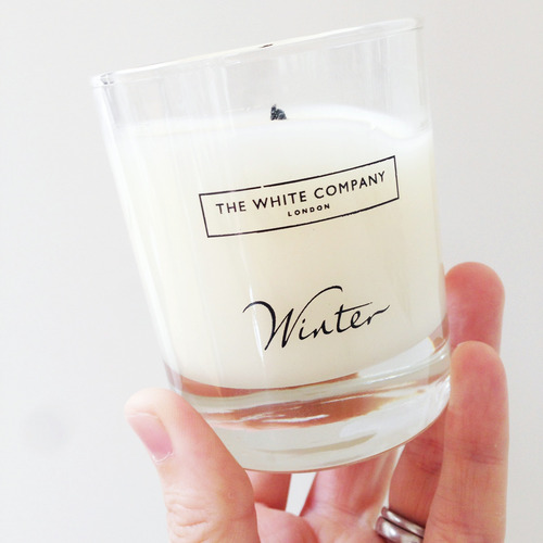 Lighting the first White Company Winter candle of the season is a welcome ritual as we welcome back the dark evenings
