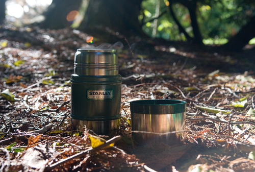 Is there anything finer than a cushion of warm leaves and a flask of fresh coffee?