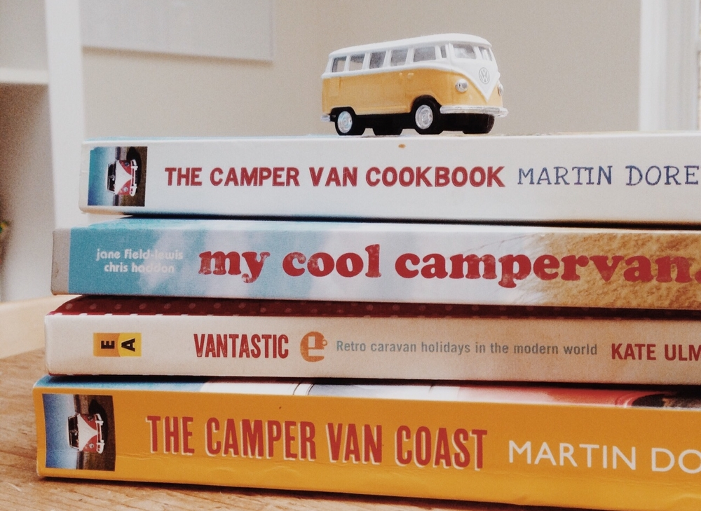 As well as the essential camper van reading list, I stocked up on good reads for our French road trip this summer