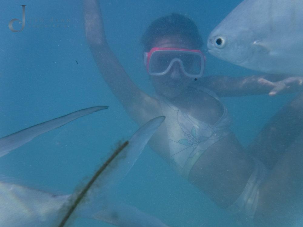 Underwater shots are so fun!