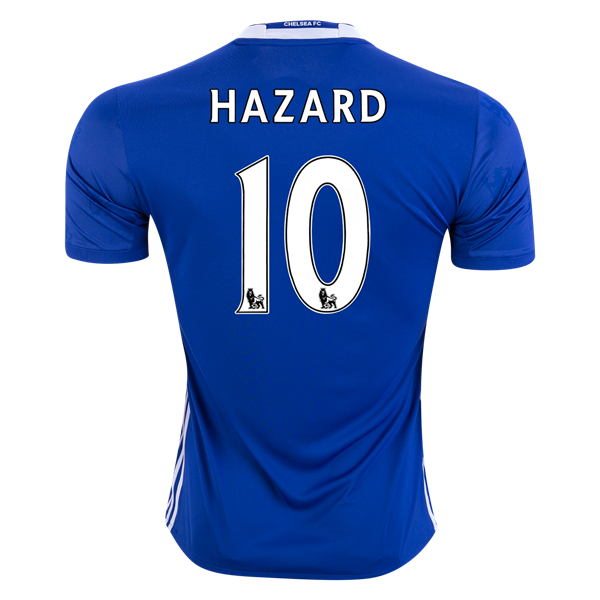 Chelsea 16/17 10 HAZARD Home Soccer Jersey only $99.99! Click the image to get yours today.