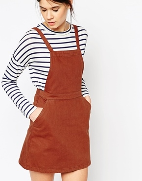 Asos Rust Pinafore