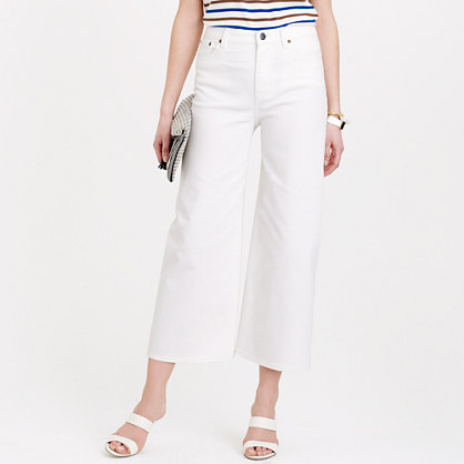Jcrew White Denim Jeans