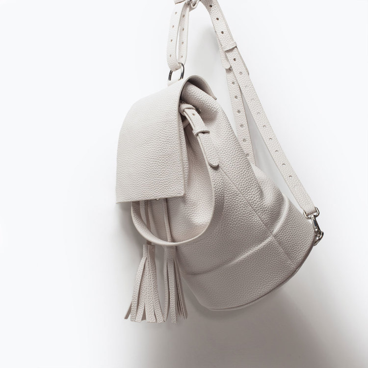 Zara Tassel Backpack