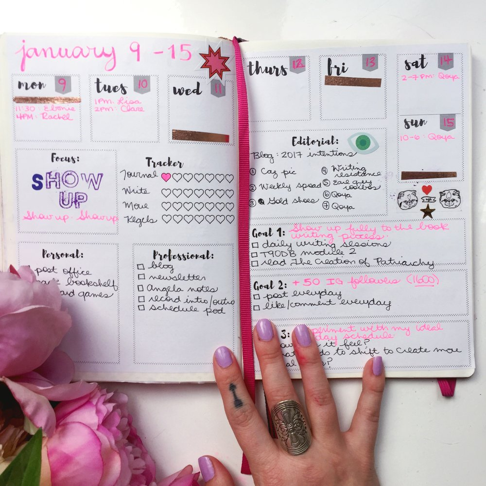 How to start a bullet journal (including free printables to get started!)
