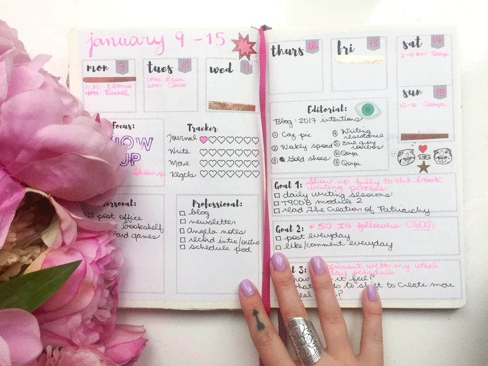 You don't need to be an artist to start a bullet journal! For me, it's a fast, fun, and efficient tool for organizing my time, keeping track of my goals, and designing a life that feels how I want to feel. These free printables help you get started right away!