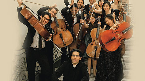 PEABODY PELED CELLO GANGwith AMIT PELEDSunday, March 31, 2019 | 4pmProvidence Presbyterian Church - Composed of students from Amit Peled's studio at the Peabody Institute, the ensemble comes together to perform works arranged for cello ensemble with Peled as soloist.