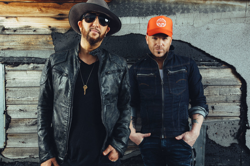 Country music duo LOCASH will be headlining Friday evening at 8:30 pm