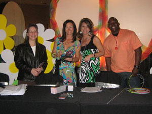 (Left to Right) Donna Haley, Julie Rich (co chair) Rhonda Light & Rodney McFaddin.