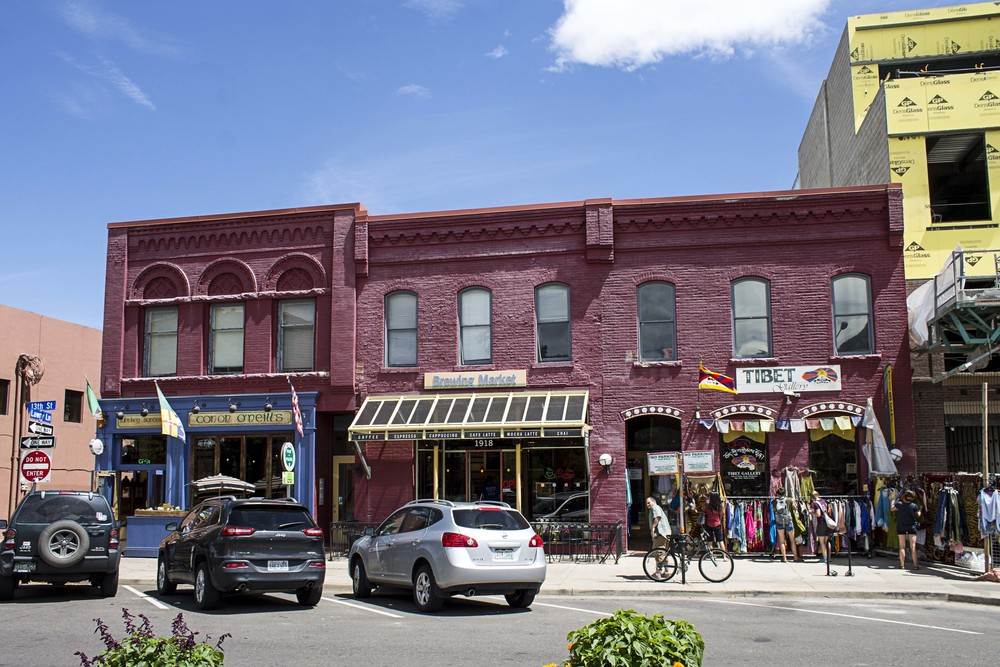 The beautiful, historic and multifarious-boutique, restaurant and coffee house adorned streets of downtown.