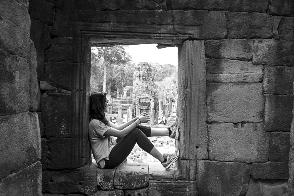 Bayon Temple ~ Siem Reap, Cambodia