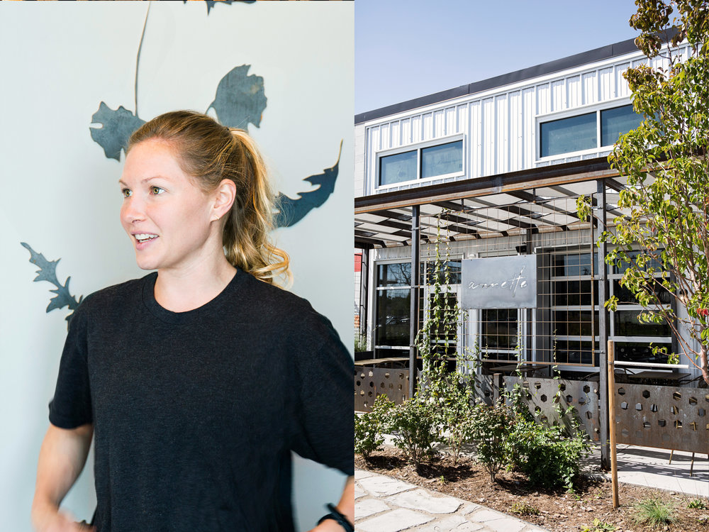 Chelsey Maschhoff — sous chef at Annette.