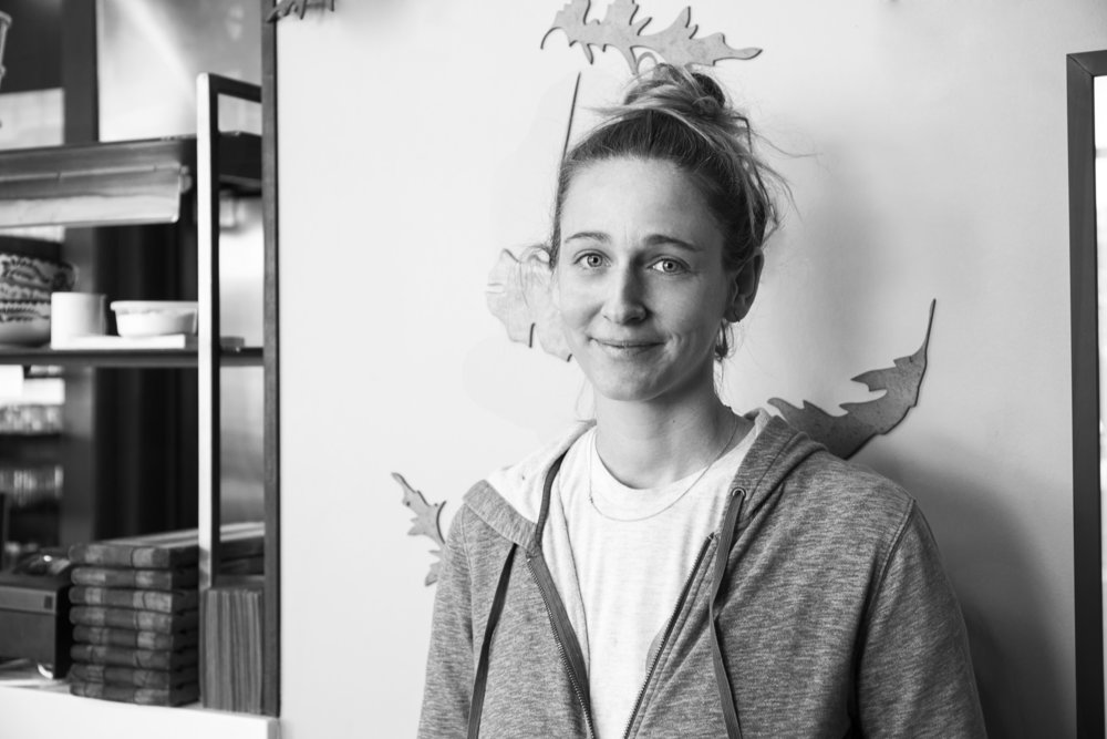 Caroline Glover — owner, founder and head chef of Annette.
