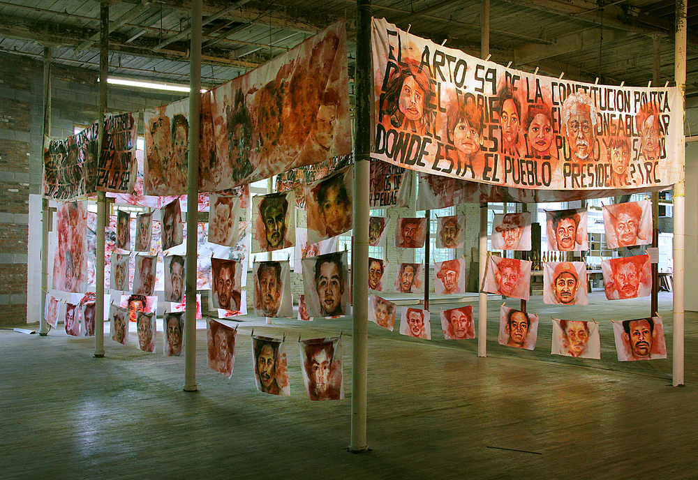 Empalagoso (Saccharine): The Chichigalpa Portrait Project, Garner Arts Center Installation. Photo courtesy of artist.
