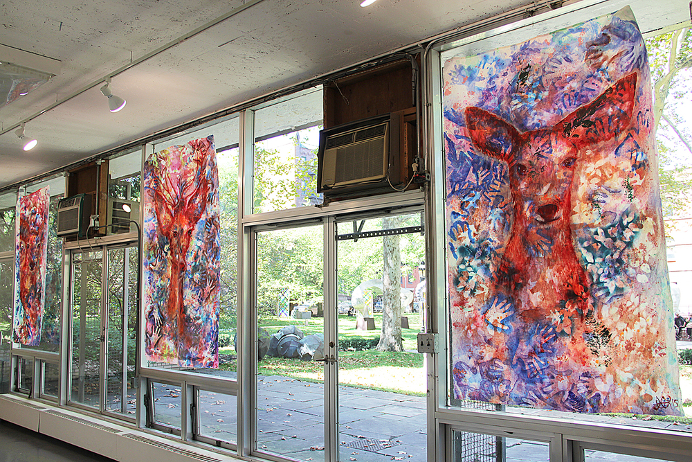 'Untitled I, II, & III' at Pratt Institute (2015) Image courtesy of artist.