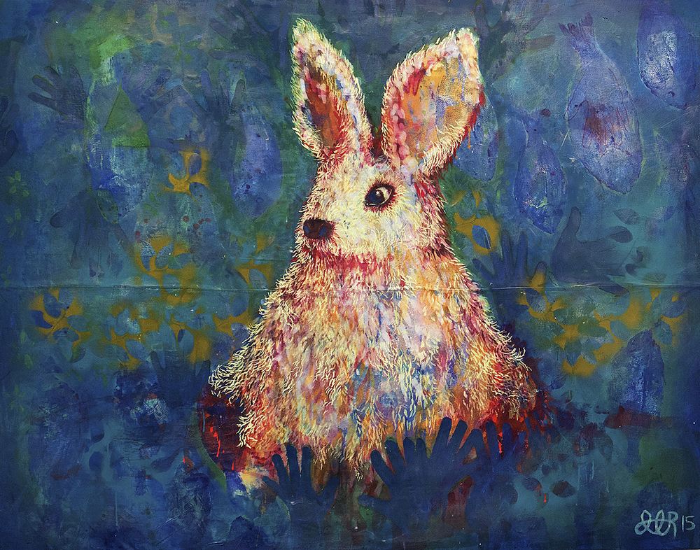 'Blood Bunny' (2015) Image courtesy of John Atkinson.