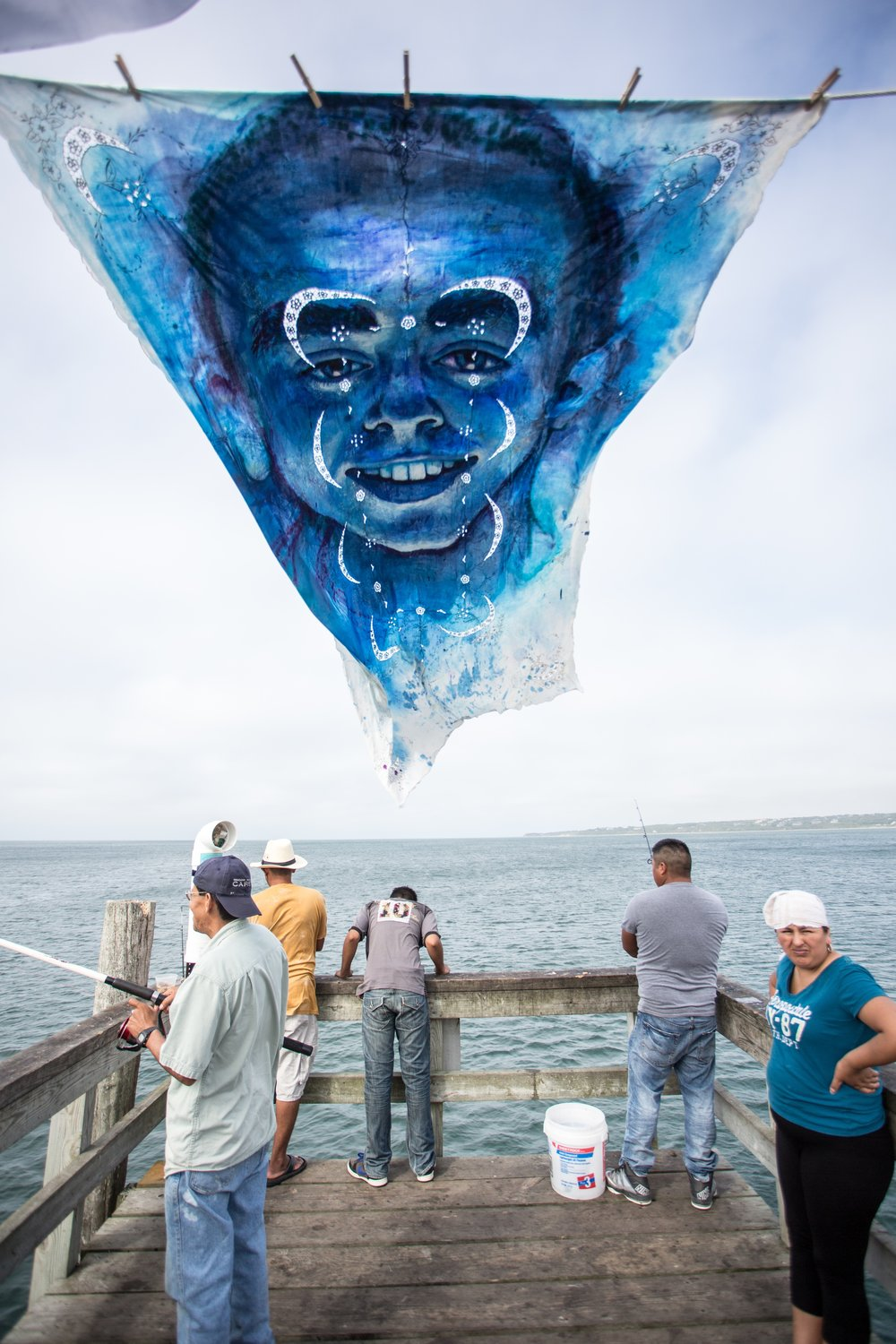 'Leviathan: The Montauk Portrait Project, Phase III: Donald' (2014) Photo courtesy of James Katsipis.