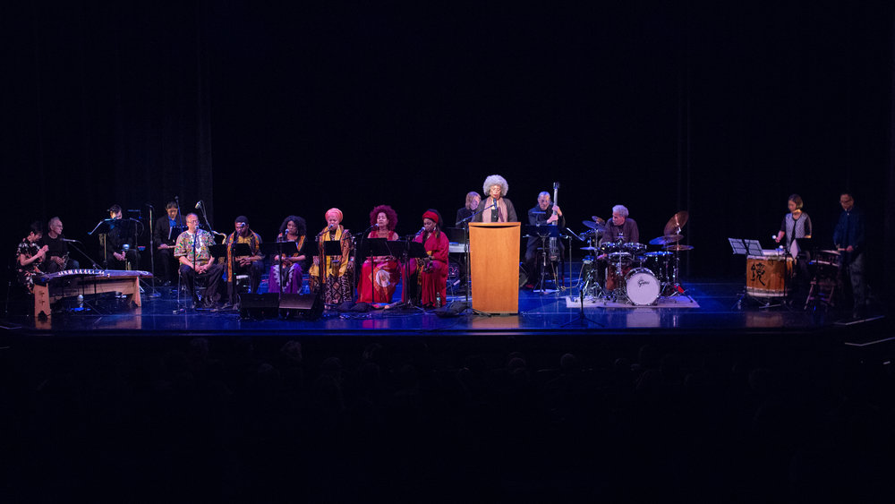 DOWN BY THE RIVERSIDE - A Requiem For a King - As part of the celebration of Dr. King's life the Asian American Orchestra debuted DOWN BY THE RIVERSIDE at the 2018 San Francisco International Arts Festival by our composer, band leader and Smithsonian Institute Scholar Dr. Anthony Brown in collaboration with Dr. Angela Davis, the Asian American Orchestra and the Voices of a Dream Vocal Ensemble. View the excerpt of the concert in our video below.
