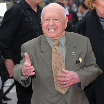 Thinkstock, Mickey Rooney in October 2009