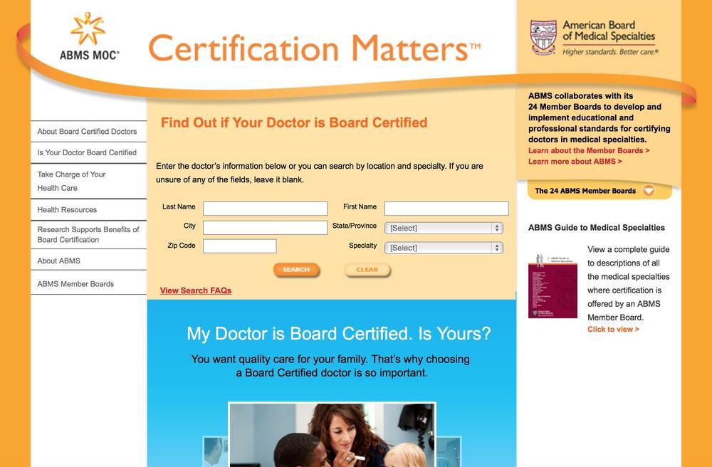 3. Certification Matters