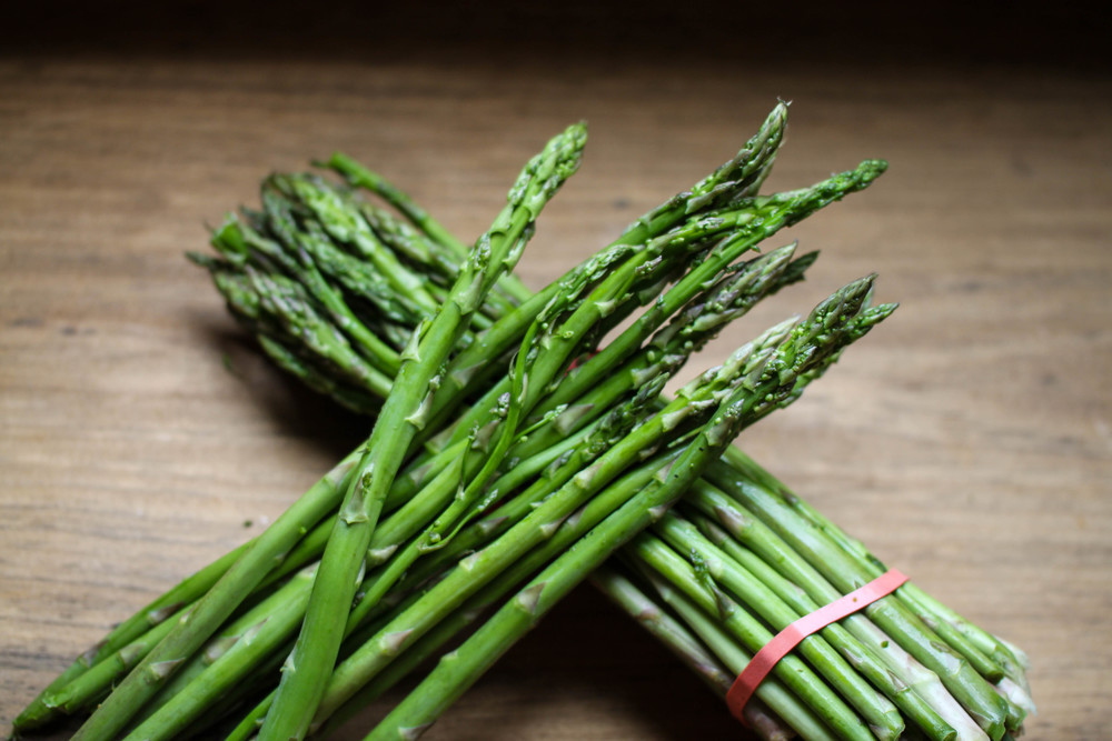 Simply Roasted Asparagus with Dijon Vinaigrette — Icing Off The Cake