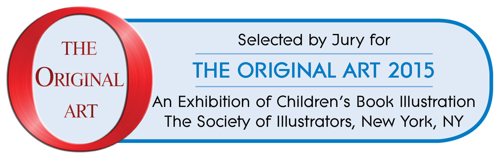 Very exciting! Small Elephant has been selected to be part of The Original Art 2015 Exhibition.