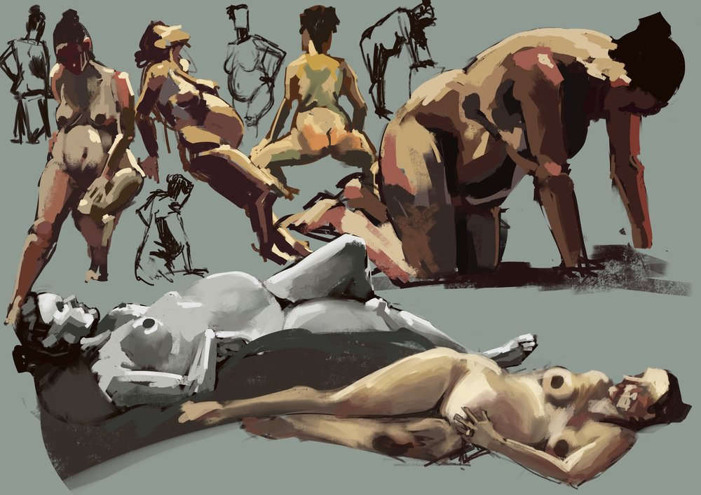 Lifedrawing Studies