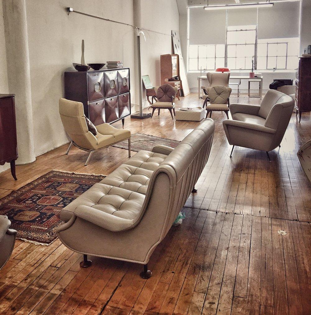 Italian 20th Century Design loft - Mid Century Modern Italian Design