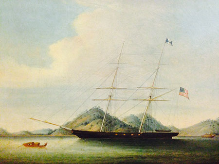 Brig Eagle carried Forbes cargoes from China