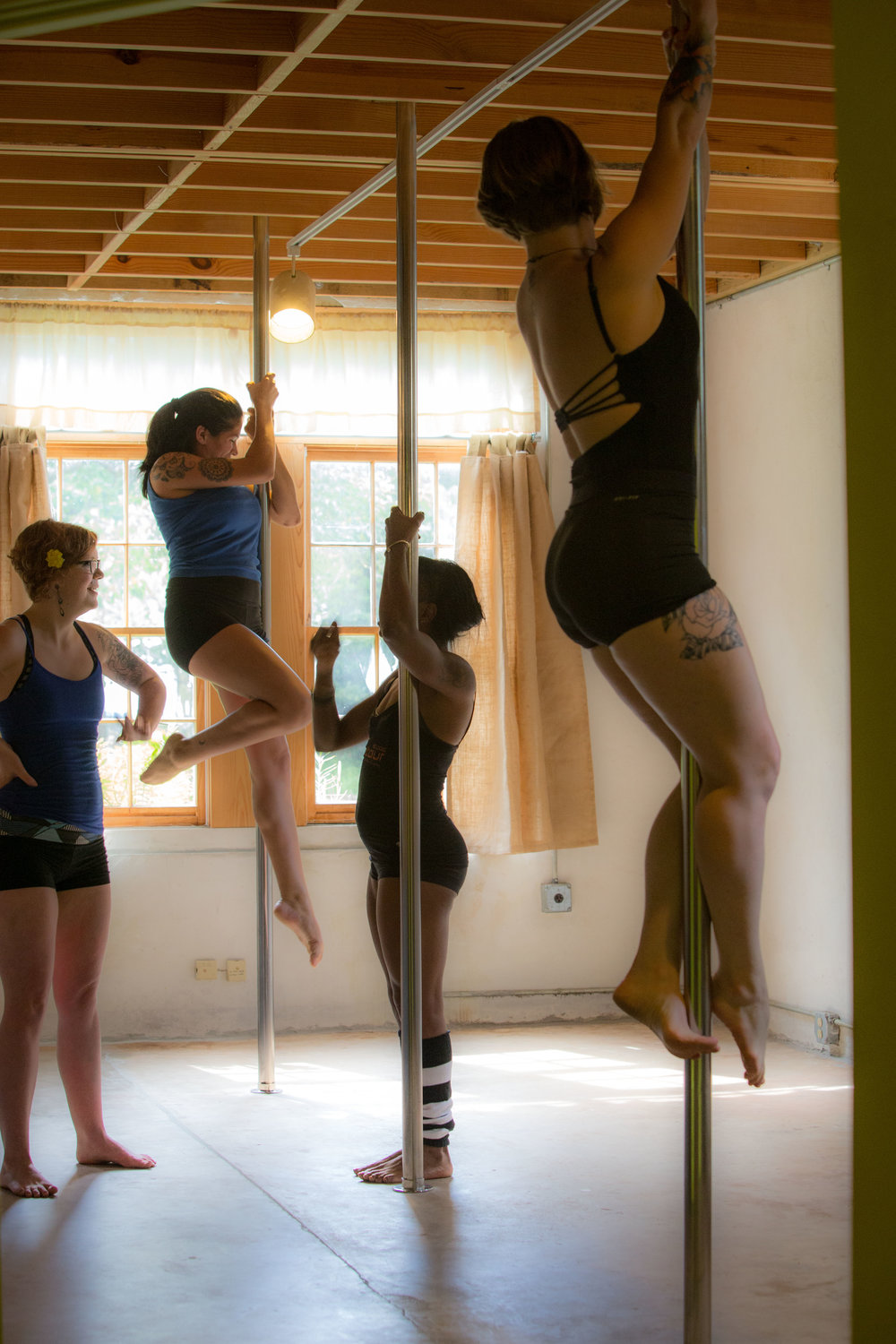 Small Classes to Get You Established in the basics of Pole Fitness