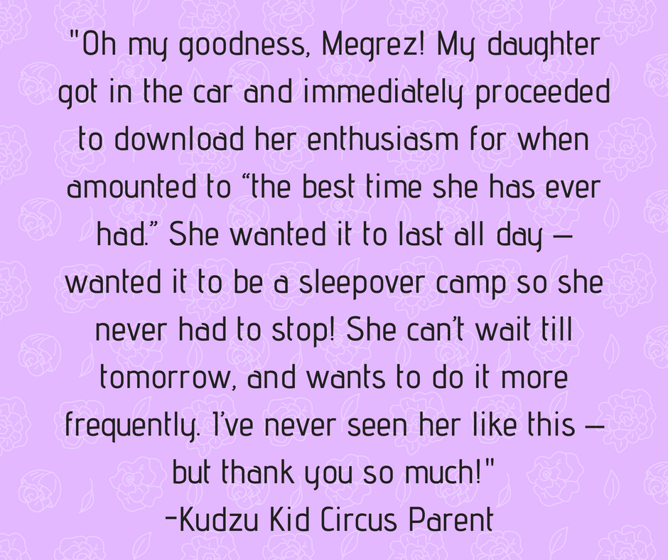 "Oh my goodness, Megrez! Aviana got in the car and immediately proceeded to download her enthusiasm for when amounted to ""the best time she has ever had."" She wanted it to last all day – wanted it to be a sleepover ca.png"