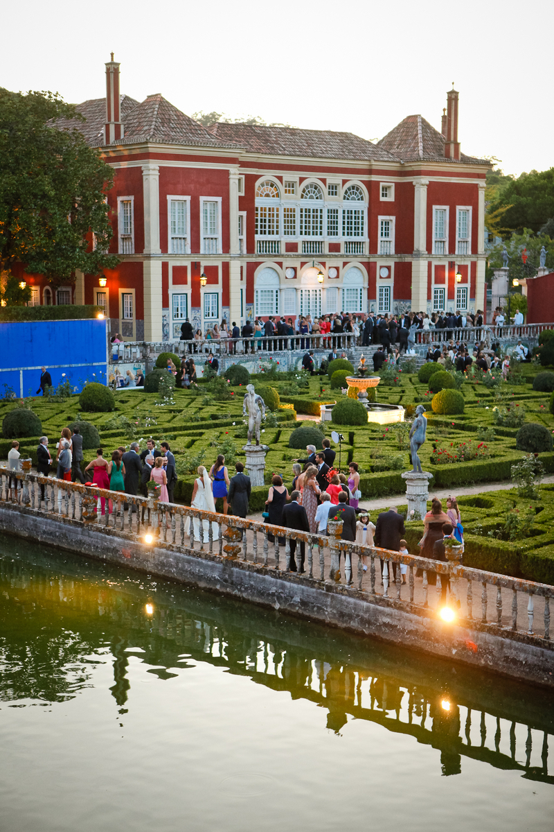 Amazing garden area for Wedding celebration in Portugal