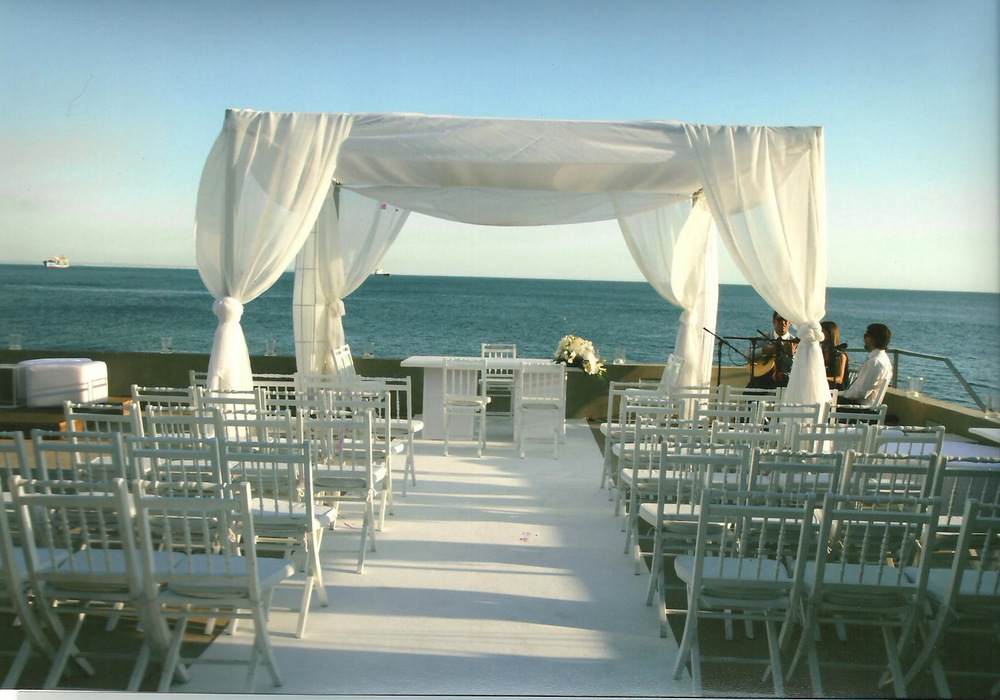 Wedding venue by the sea. The Wedding Portugal